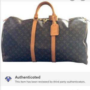 🥰Louis Vuitton Monogram Keepall 55 Travel Bag🧳💕